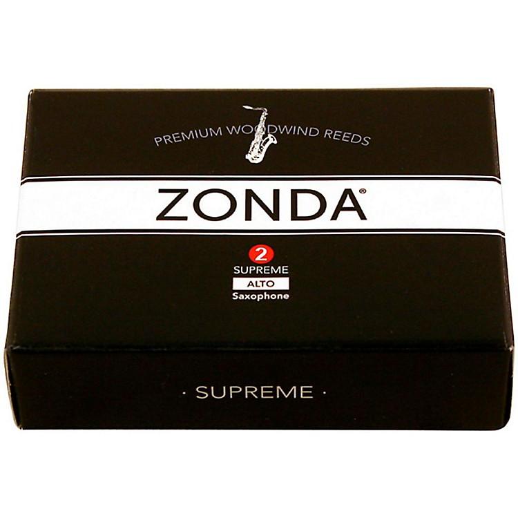 ZondaSupreme Alto Saxophone ReedStrength 2Box of 5