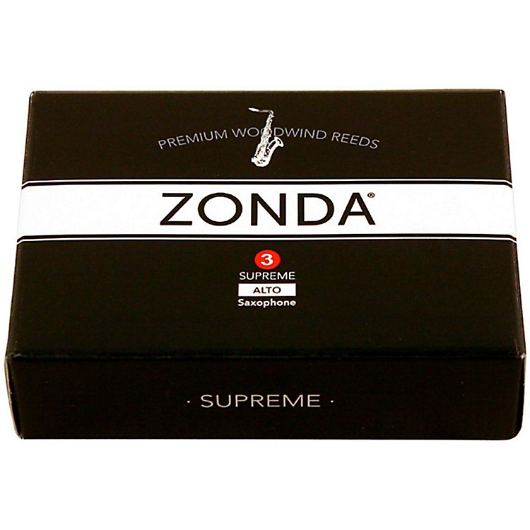 Zonda Supreme Alto Saxophone Reed Strength 3 Box of 5