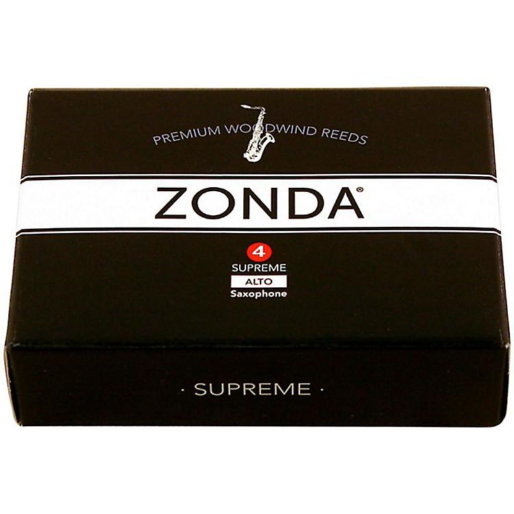 ZondaSupreme Alto Saxophone ReedStrength 4Box of 5