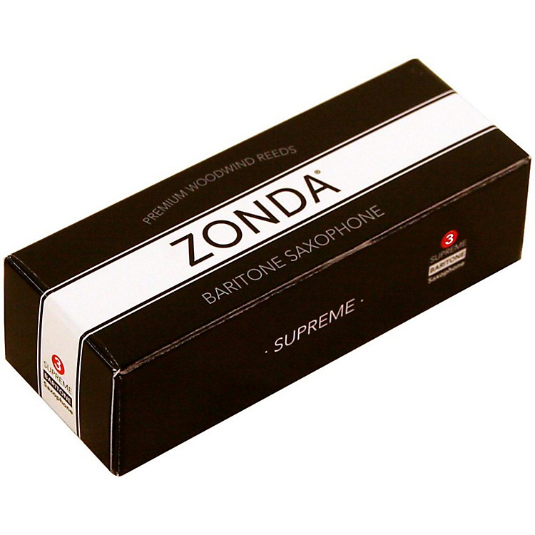 ZondaSupreme Baritone Saxophone ReedStrength 3Box of 5