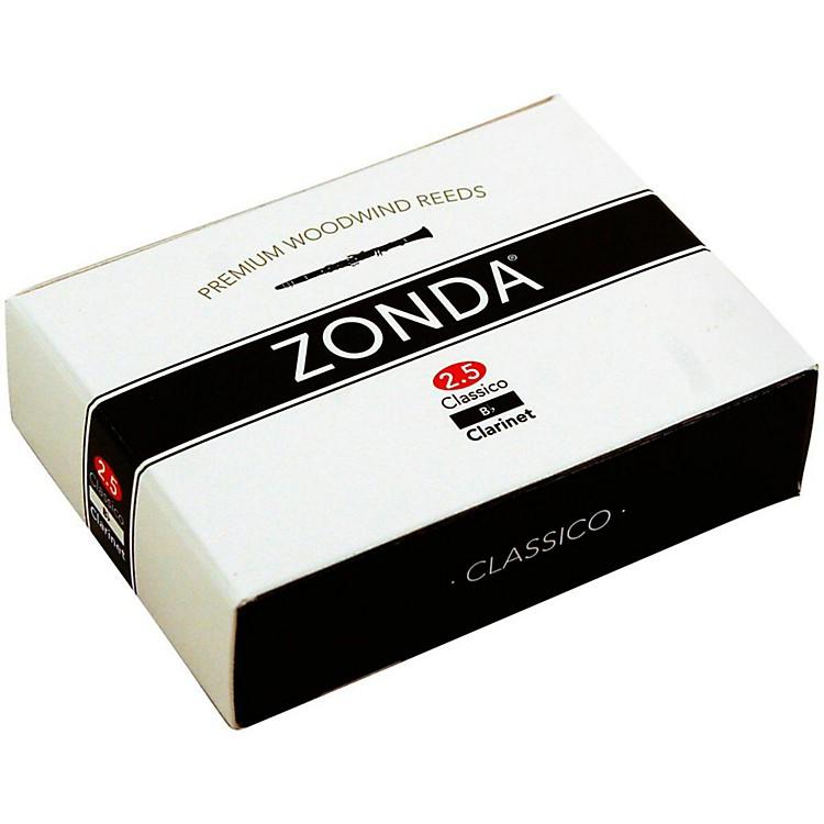 ZondaSupreme Bb Clarinet ReedStrength 2.5Box of 5