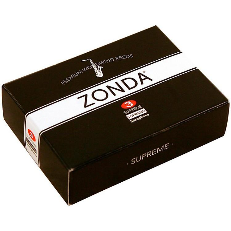 ZondaSupreme Soprano Saxophone ReedStrength 3Box of 5