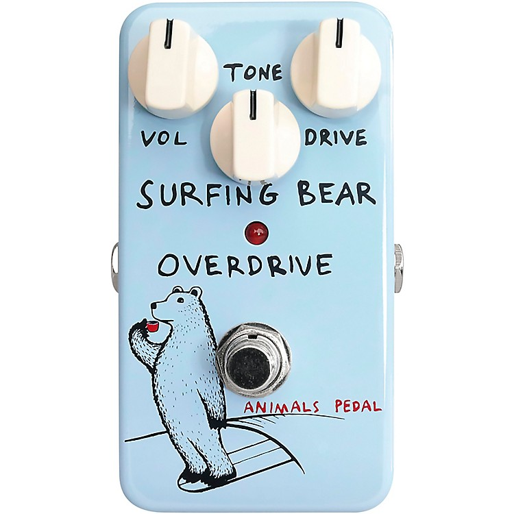 Animals PedalSurfing Bear Overdrive Effects Pedal