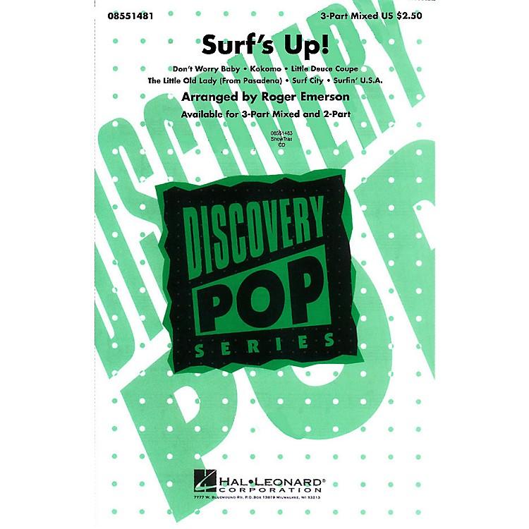 Hal LeonardSurf's Up! (Medley) 3-Part Mixed arranged by Roger Emerson