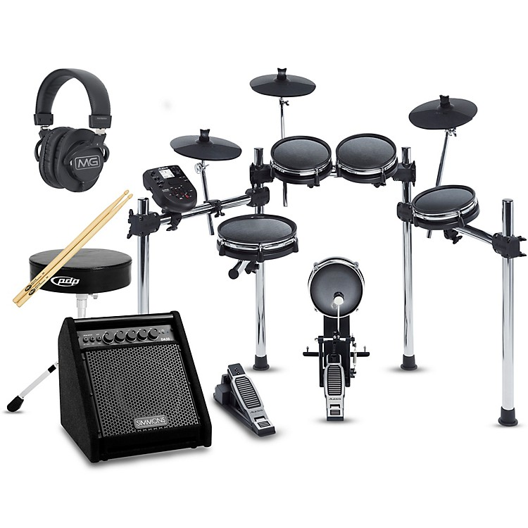 AlesisSurge Mesh-Head Complete Electronic Drum Set with Simmons DA50B Monitor