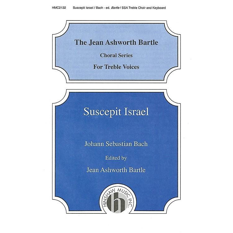 Hinshaw MusicSuscepit Israel SSA composed by Johann Sebastian Bach