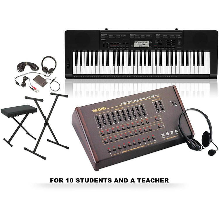 Suzuki Suzuki / Casio CTK-3200 Keyboard Lab for 10 students and 1 teacher