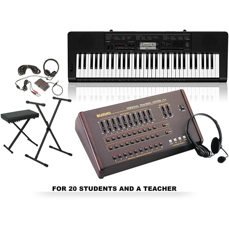 SuzukiSuzuki / Casio CTK-3200 Keyboard Labfor 20 students and 1 teacher