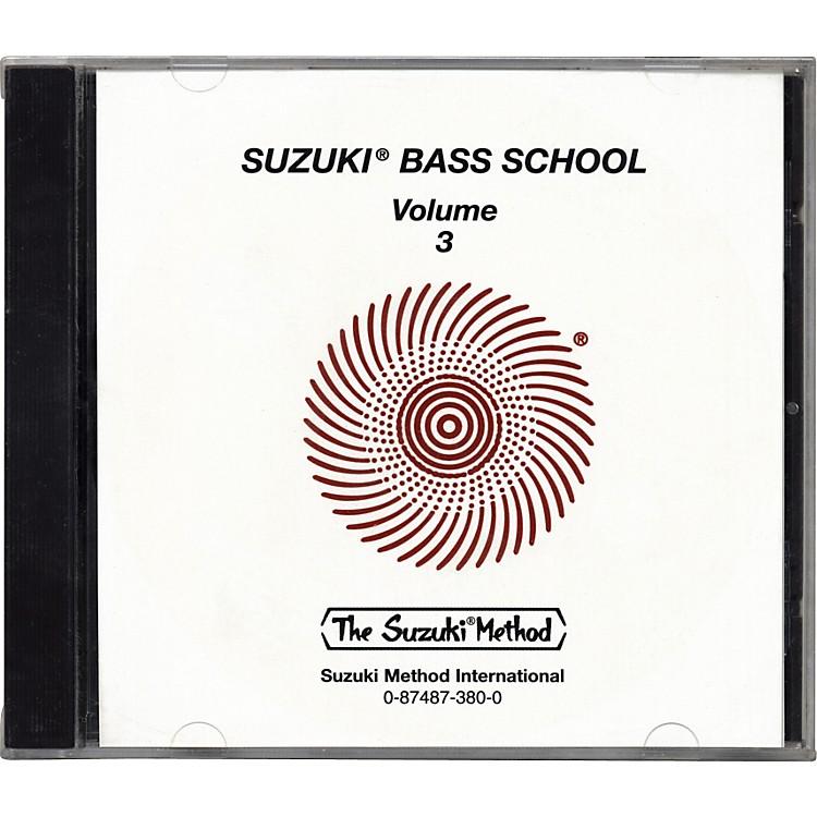 AlfredSuzuki Bass School CD Volume 3