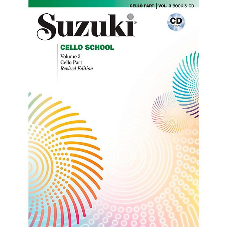 SuzukiSuzuki Cello School Book & CD Volume 3 (Revised)