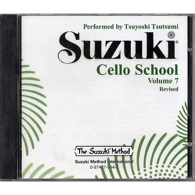 Alfred Suzuki Cello School CD, Volume 7