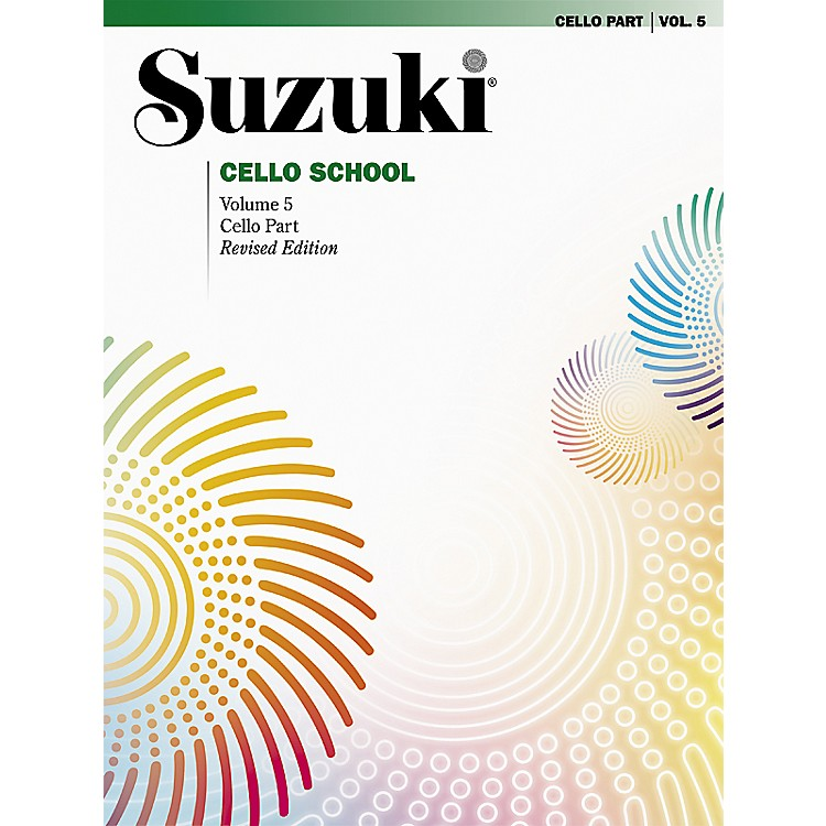 Alfred Suzuki Cello School Cello Part Volume 5 (Book)