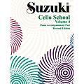 Alfred Suzuki Cello School Piano Accompaniment Vol 4 (Book)
