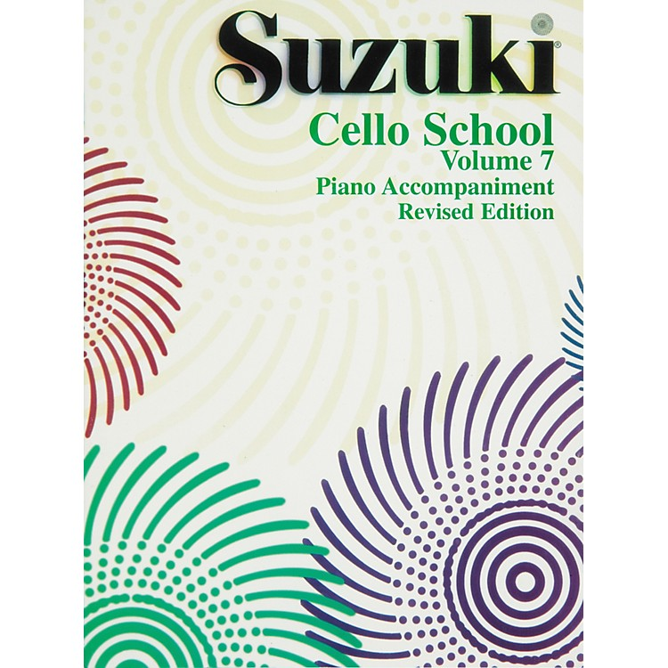 Alfred Suzuki Cello School Piano Accompaniments Volume 7 (Rev.)
