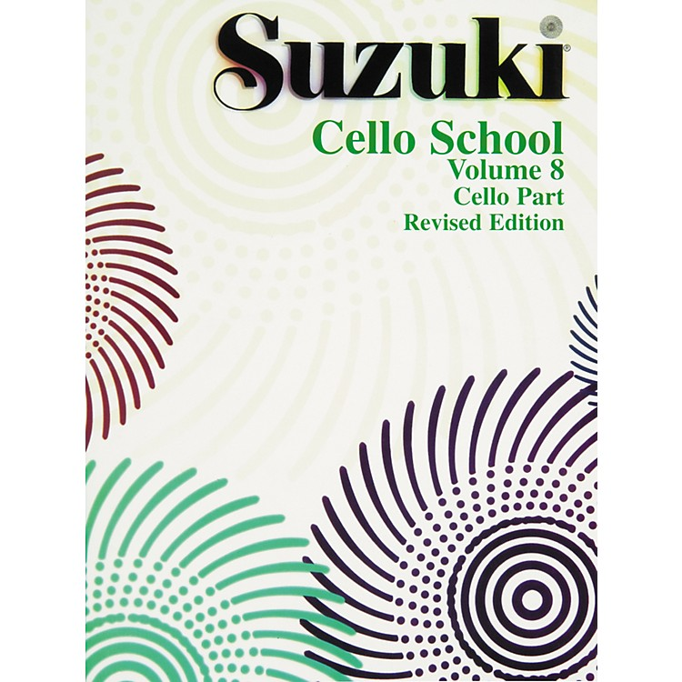 Alfred Suzuki Cello School Volume 8 (Book)