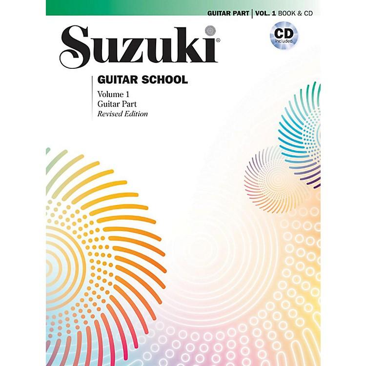 SuzukiSuzuki Guitar School Guitar Part & CD, Volume 1 Book & CD Revised