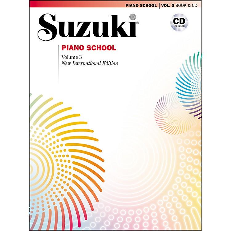 SuzukiSuzuki Piano School New International Edition Piano Book and CD Volume 3