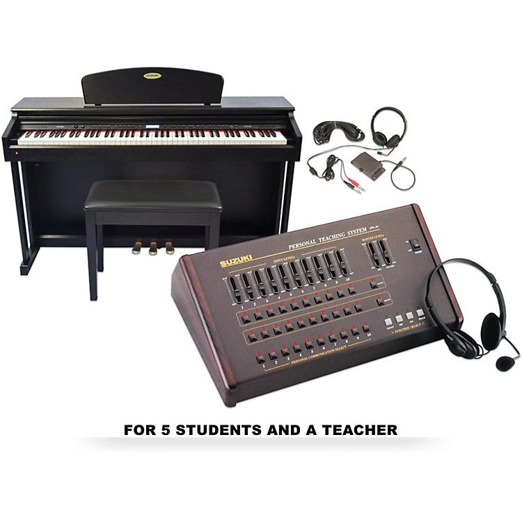 Suzuki Suzuki SCP-88 Composer Piano Lab for 5 students and 1 teacher