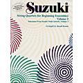 Alfred Suzuki String Quartets for Beginning Ensembles Volume 3 (Book)