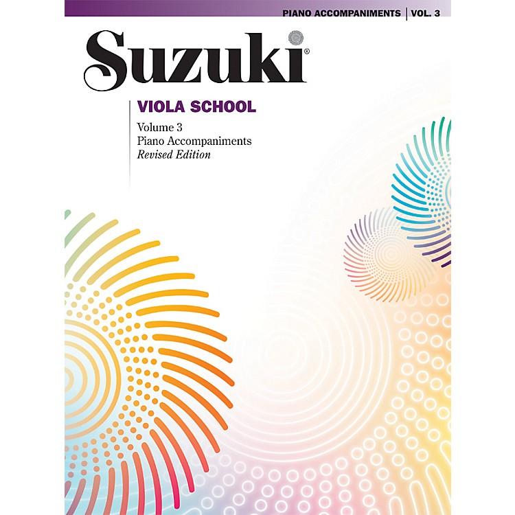 AlfredSuzuki Viola School Piano Accompaniment Volume 3 (Book)