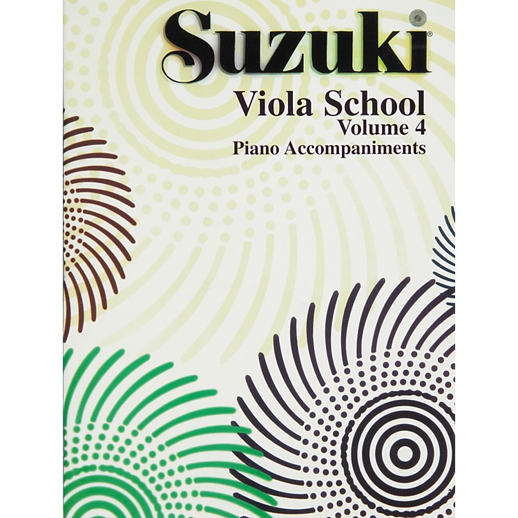 Alfred Suzuki Viola School Piano Accompaniment Volume 4 (Book)