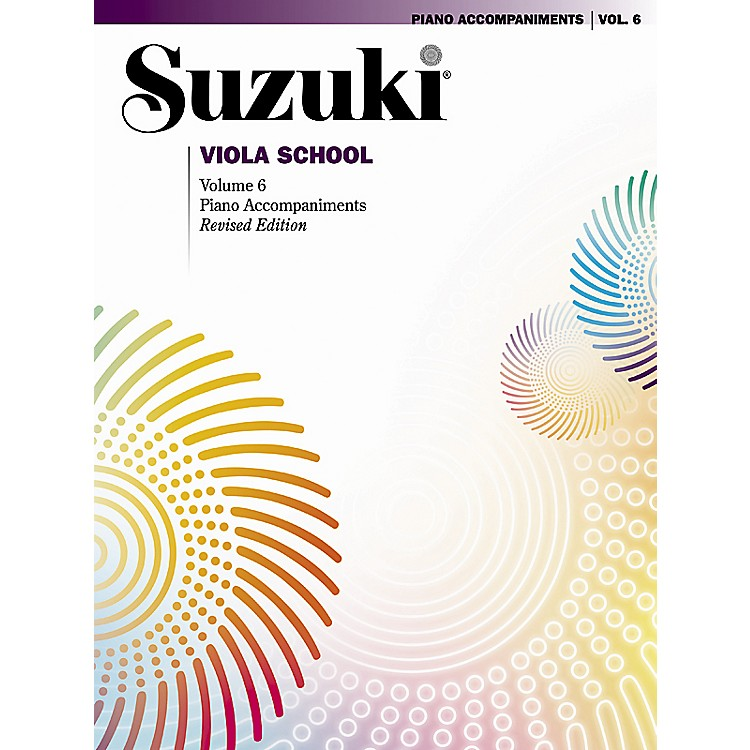 Alfred Suzuki Viola School Piano Accompaniments Volume 6