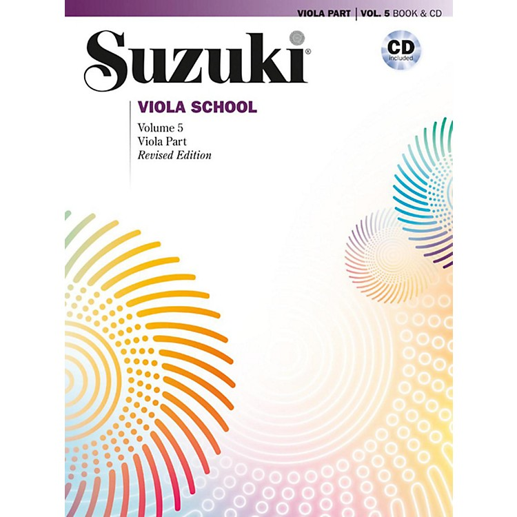 SuzukiSuzuki Viola School Viola Part & CD, Volume 5 Book & CD (Revised)