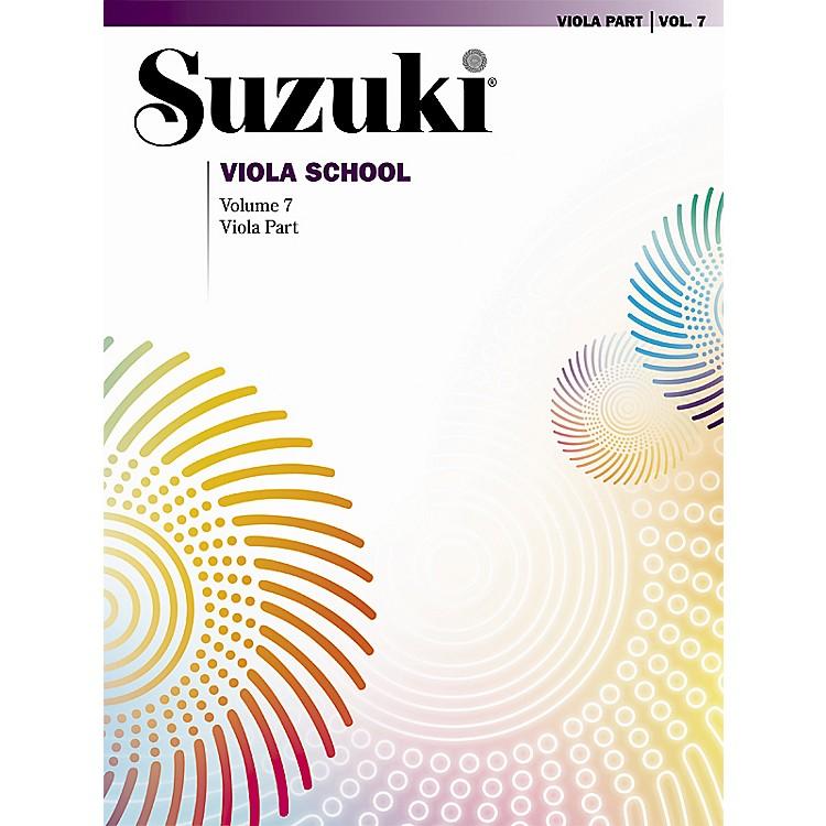 AlfredSuzuki Viola School Viola Part, Volume 7 Book