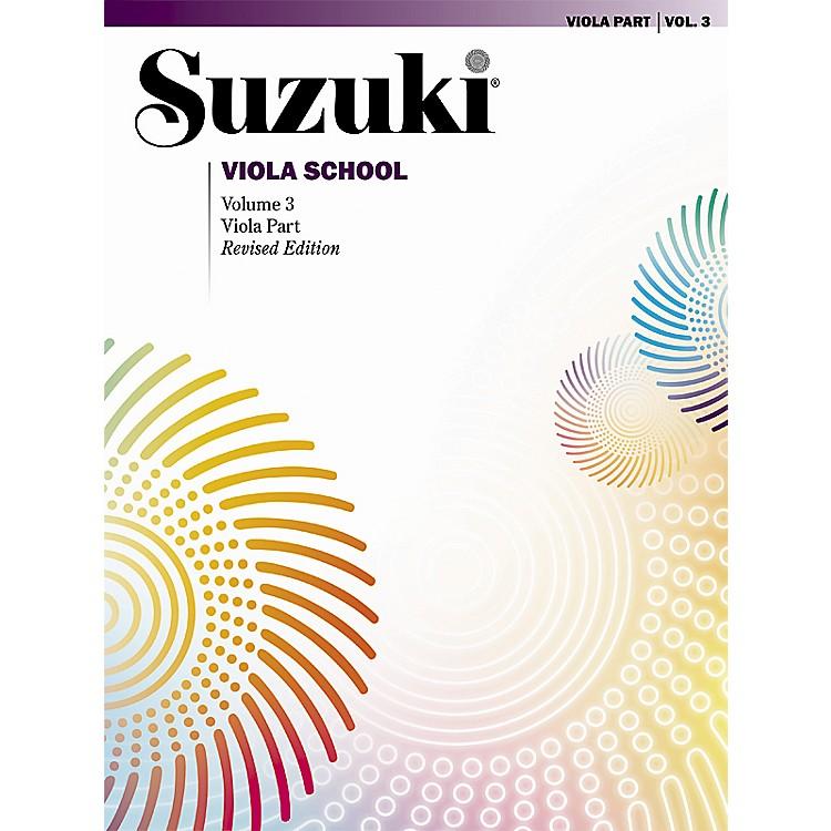 AlfredSuzuki Viola School Volume 3 (Book)