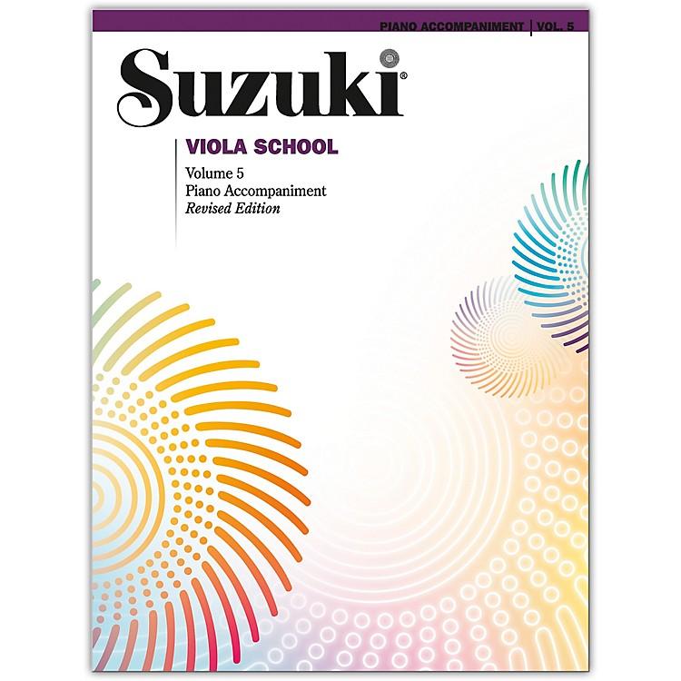 SuzukiSuzuki Viola School, Volume 5 Acc. Book