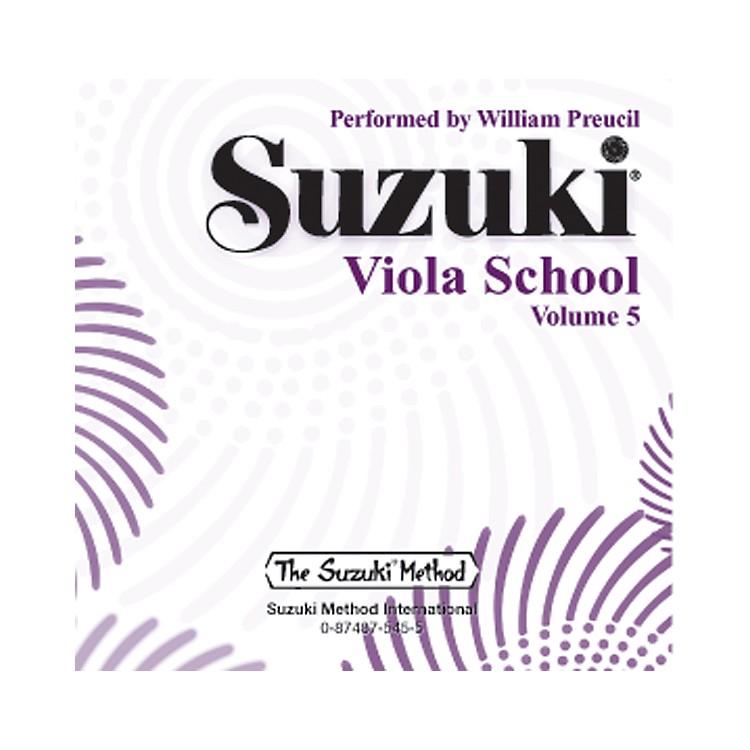 AlfredSuzuki Viola School, Volume 5 (CD)