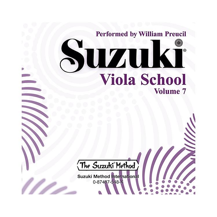 AlfredSuzuki Viola School, Volume 7 (CD)