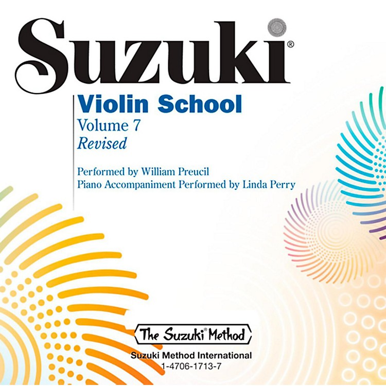 Suzuki Suzuki Violin School CD Volume 7 (Revised)