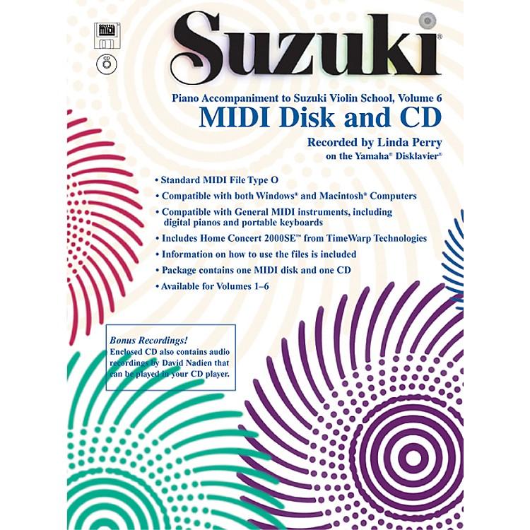 AlfredSuzuki Violin School MIDI Disk Acc./CD-ROM, Volume 6