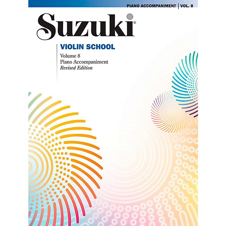 SuzukiSuzuki Violin School Piano Acc. Volume 8 Book