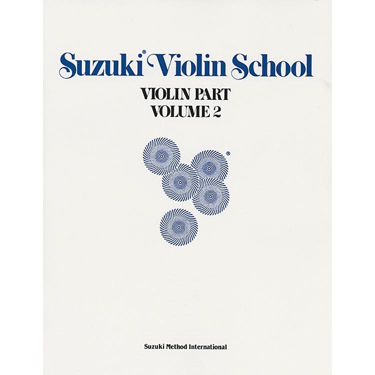 AlfredSuzuki Violin School Violin Part Volume 2 (Book)