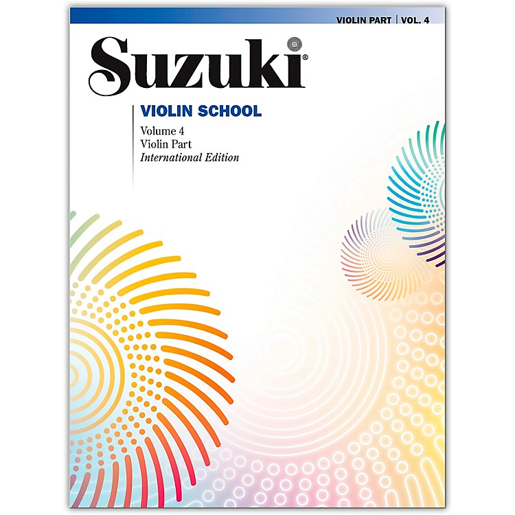 AlfredSuzuki Violin School Violin Part Volume 4