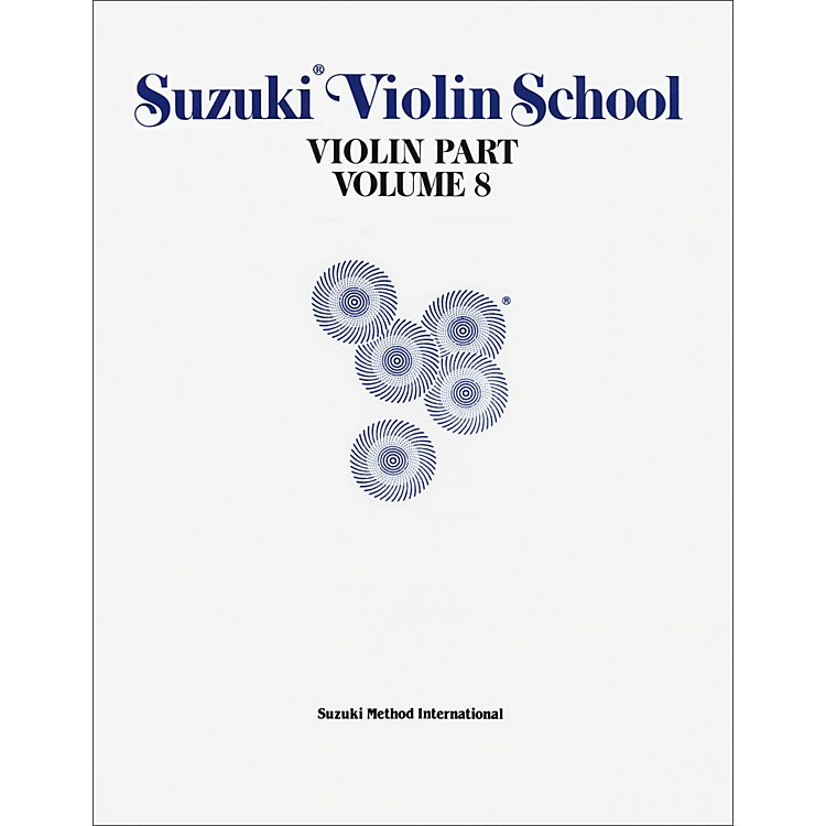 AlfredSuzuki Violin School Violin Part Volume 8 (Book)