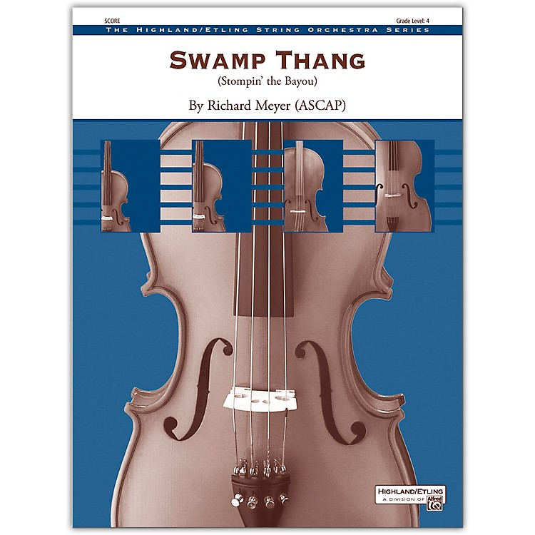 AlfredSwamp Thang Conductor Score 4