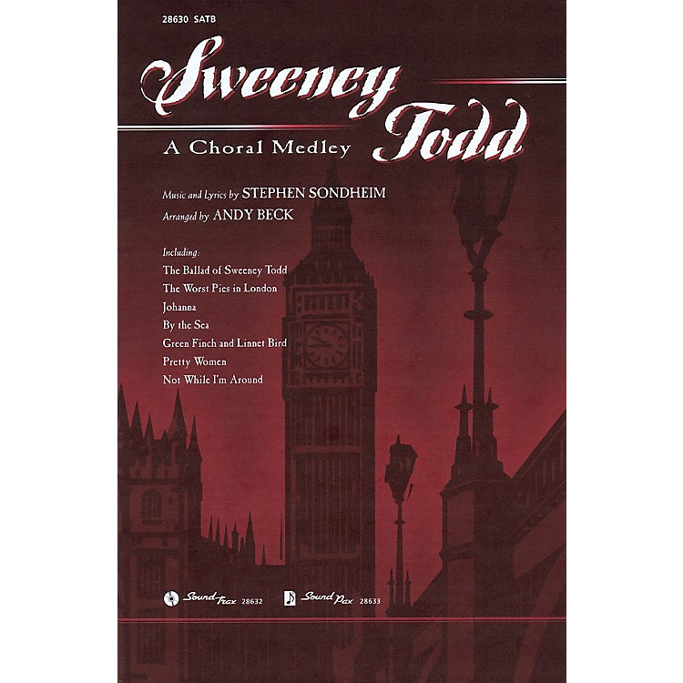 Hal LeonardSweeney Todd: A Choral Medley SATB arranged by Andy Beck