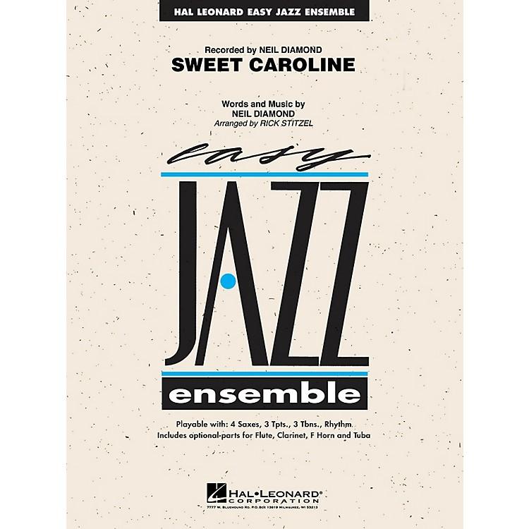Hal LeonardSweet Caroline Jazz Band Level 2 by Neil Diamond Arranged by Rick Stitzel