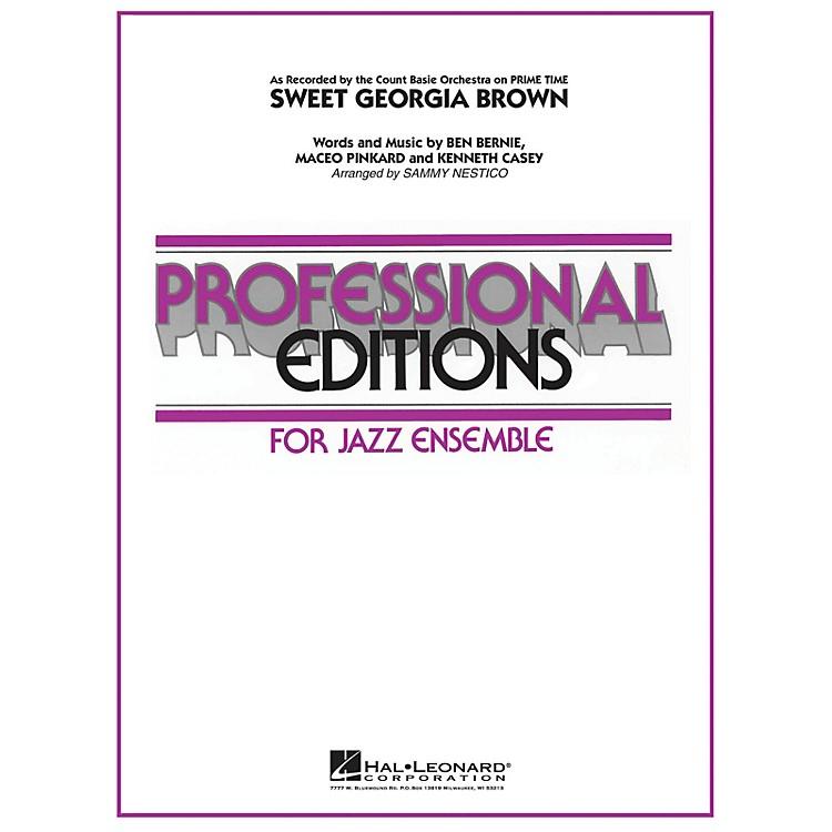 Hal LeonardSweet Georgia Brown Jazz Band Level 5 by Count Basie Arranged by Sammy Nestico