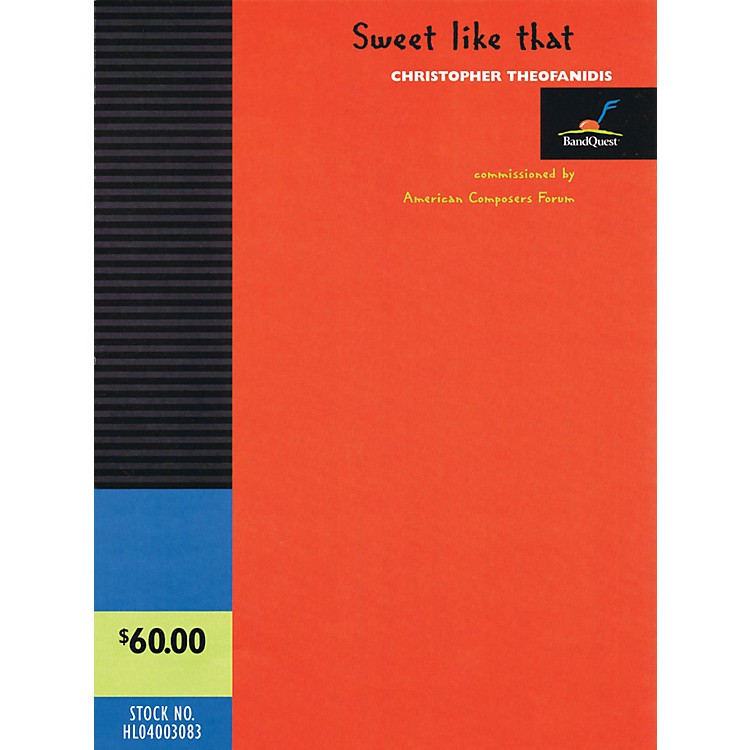 Hal Leonard Sweet Like That - Band Quest Series Level 3