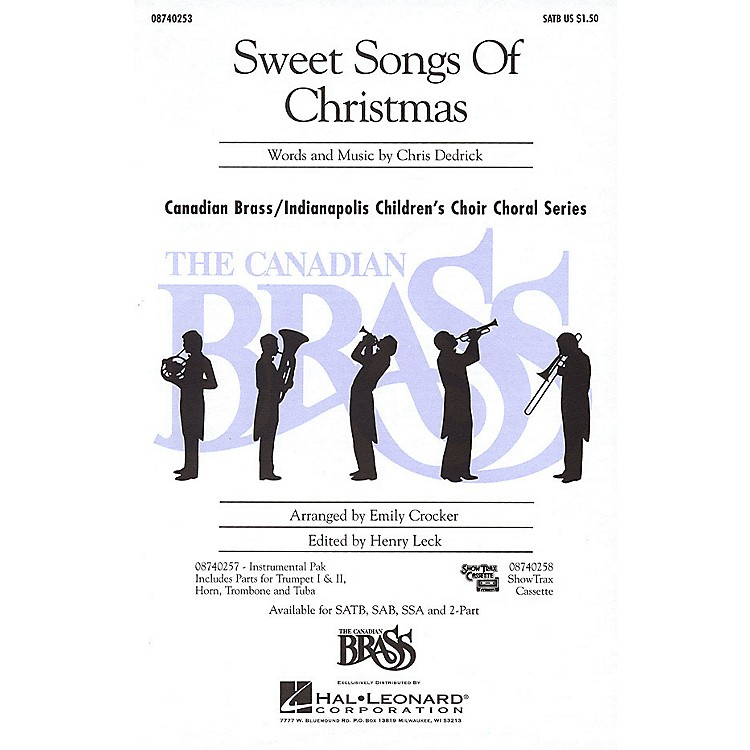 Hal LeonardSweet Songs of Christmas IPAKB Composed by Christopher Dedrick