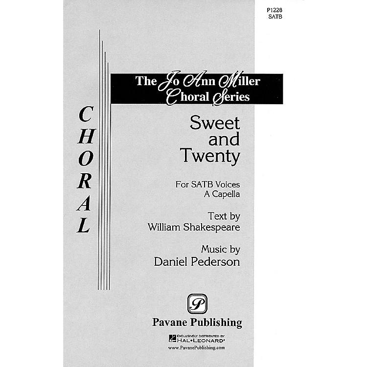PavaneSweet and Twenty SATB a cappella composed by Daniel Pederson