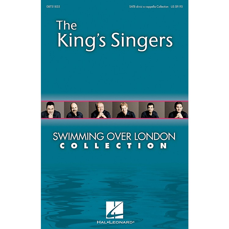 Hal LeonardSwimming over London (Collection) SATB DV A Cappella by The King's Singers