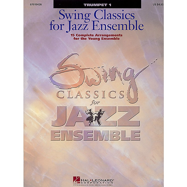 Hal LeonardSwing Classics for Jazz Ensemble - Trumpet 1 Jazz Band Level 3 Composed by Various