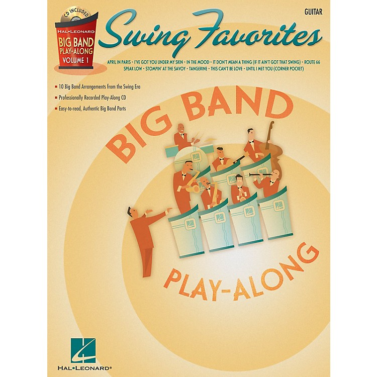 Hal LeonardSwing Favorites - Guitar (Big Band Play-Along Volume 1) Big Band Play-Along Series Softcover with CD