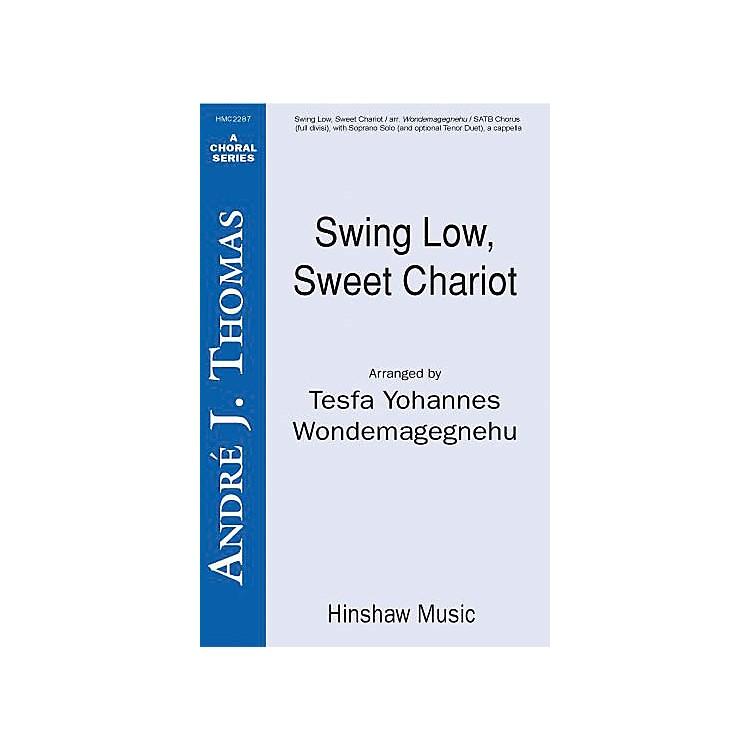 Hinshaw MusicSwing Low, Sweet Chariot SSAATTBB arranged by Tesfa Yohannes Wondemagegnehu