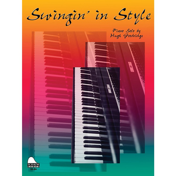 SCHAUMSwingin' In Style Educational Piano Series Softcover